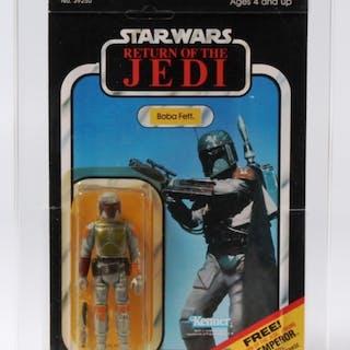 Star Wars ROTJ 65 Back C Boba Fett 70