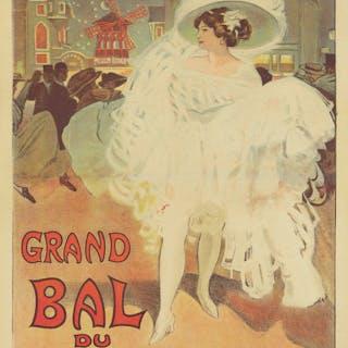 Grand Bal du Moulin-Rouge. ca. 1901.