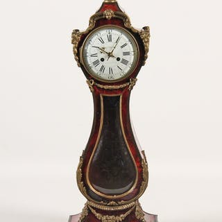 RARE FRENCH BRONZE MTD TABLE MODEL CLOCK