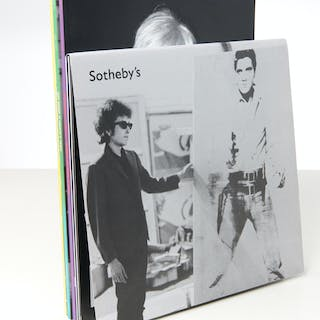 BOOKS: (4) Vols Andy Warhol at Christie's 2012