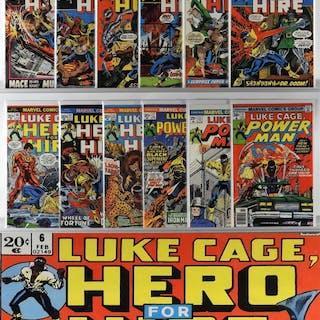 12PC Luke Cage Power Man Group #3-37 Partial Run
