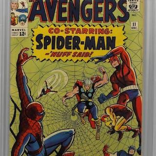 Marvel Comics Avengers #11 CBCS 5.5