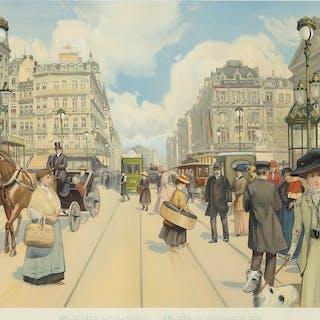Bruxelles-La Ville Moderne. ca. 1900.