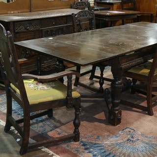 Dining Table And Chairs Auction All Auctions On Barnebys