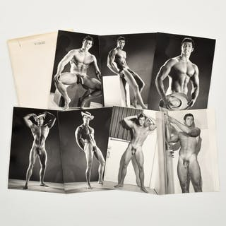 7 Bruce Bellas Nude Male Physique Photos - Bruce Bellas (1909-1974)