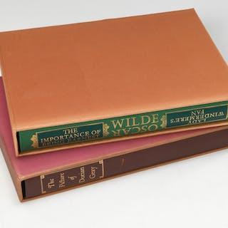 BOOKS: (2) Vols LEC, Oscar Wilde