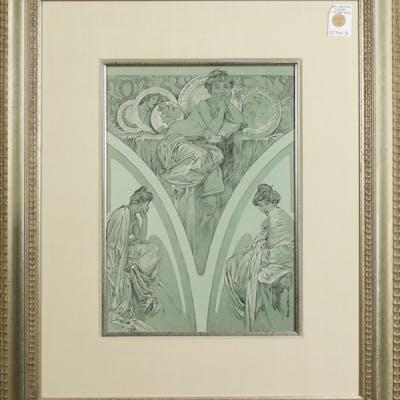 Print, Alphonse Mucha - A
