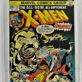 Marvel Comics X-Men #94 CBCS 8.0