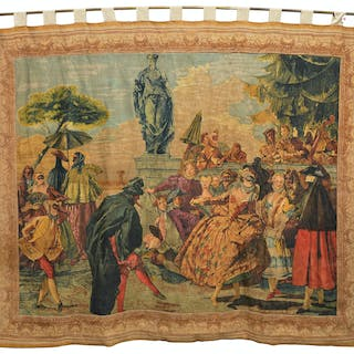 Tiepelo (after), large Rambouillet tapestry
