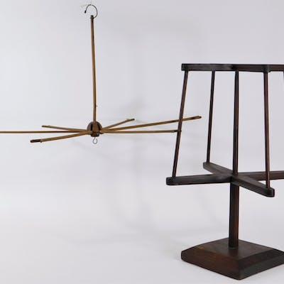 American Primitive Folk Yarn Swift & Winder Spool