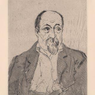 Joseph Victor Roux-Champion Etching [Portrait]