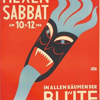 Künstlerfest Hexensabbat. ca. 1930s.