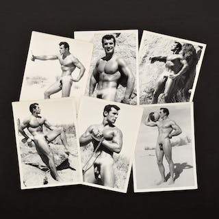 6 Bruce Bellas Nude Male Physique Photos - Bruce Bellas (1909-1974)