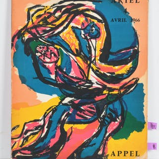 Appel, lithographs in Ariel 4, 1966