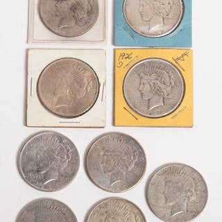 9 Different Peace Dollars, Including Better Dates