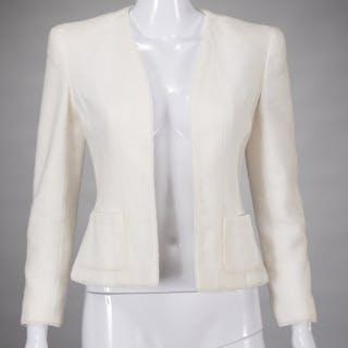 Chanel Boutique ivory boucle jacket
