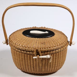 NANTUCKET FRIENDSHIP BASKET PURSE BY JOSE FORMOSO REYES