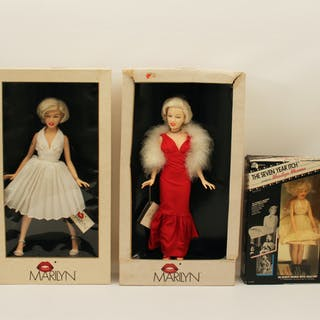 MARILYN MONROE DOLL COLLECTION
