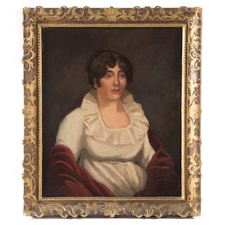 American School, 20th c. Portrait of a Lady