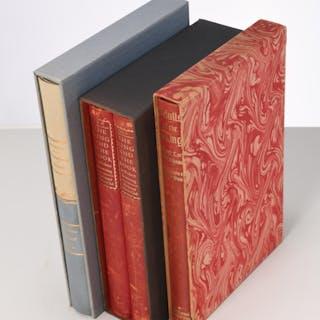 BOOKS: (3) Vols LEC, epic poems
