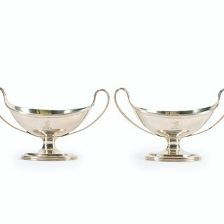 Two English George III master salts