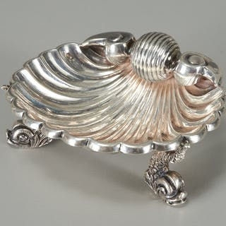 Tiffany & Co. sterling shell form dish