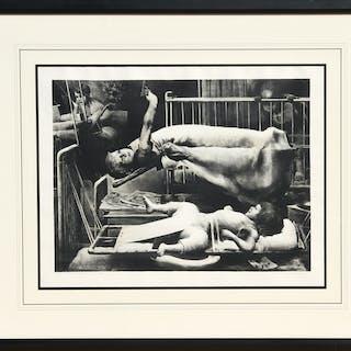 Robert Riggs, Children's Ward, Lithograph
