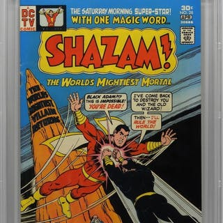 DC Comics Shazam! #28 CBCS 7.5
