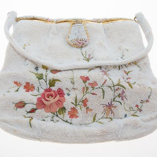 Beaded and Embroidered Purse