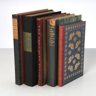 BOOKS: (5) Vols LEC, signed Thomas Hart Benton