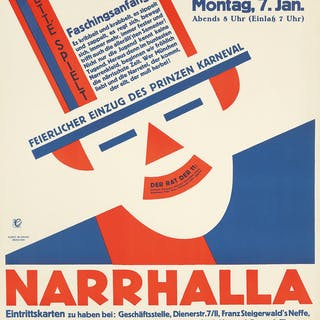 Deutsches Theater / Narrhalla. 1929.