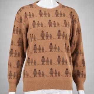 Vintage Fendi Italy wool sweater