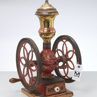 Enterprise cast iron coffee grinder no. 4