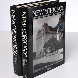 BOOKS: (2) Vols, New York Architecture 1900 & 1930