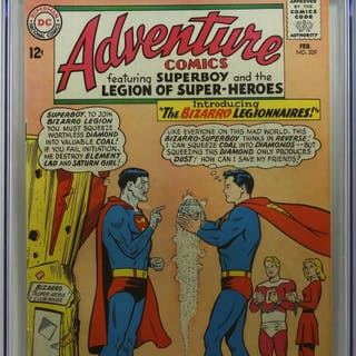 DC Comics Adventure Comics #329 CGC 6.5