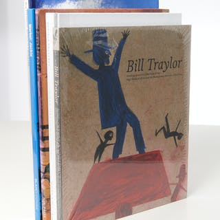 BOOKS (5) Vols Art incl. Warhol, Traylor, tenHaeff