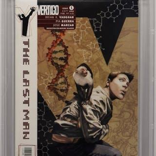 DC Vertigo Comics Y: The Last Man #1 CBCS 9.8
