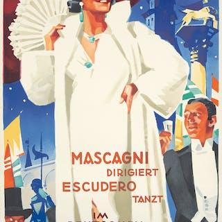 Italienischer Festball. 1939.