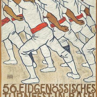 Eidgenössisches Turnfest in Basel. 1912.