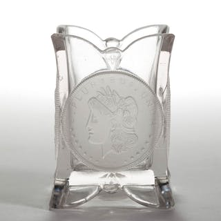 U. S. COIN / SILVER AGE (OMN) TOOTHPICK HOLDER