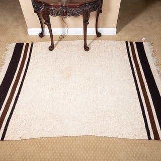 Contemporary Woven Wool Area Rug
