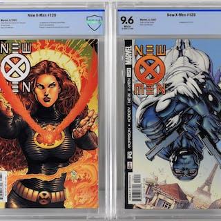 Marvel Comics New X-Men #128 #129 CBCS 9.8 9.6