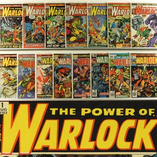15PC Marvel Comics Warlock #1-#15 Complete Run