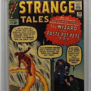 Marvel Comics Strange Tales #110 CBCS 2.5