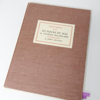 BOOKS: Fleurs du Mal, Muench #9/30 signed ltd ed