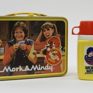 1979 King-Seeley Mork & Mindy Lunch Box & Thermos
