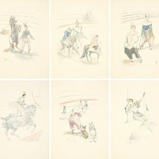 Au Cirque : Seventeen Prints. 1907.
