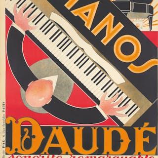 Pianos Daudé / Sonorité remarquable. 1926.