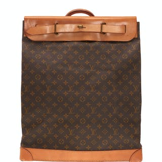 Louis Vuitton monogram canvas steamer bag