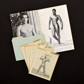 4 Bruce Bellas Nude Male Photos, Negatives, Catalog & Ephemera - Bruce